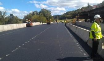 NYSDOT Rapid Bridge Construction I-84 over Dingle Ridge Rd. Putnam County, NY