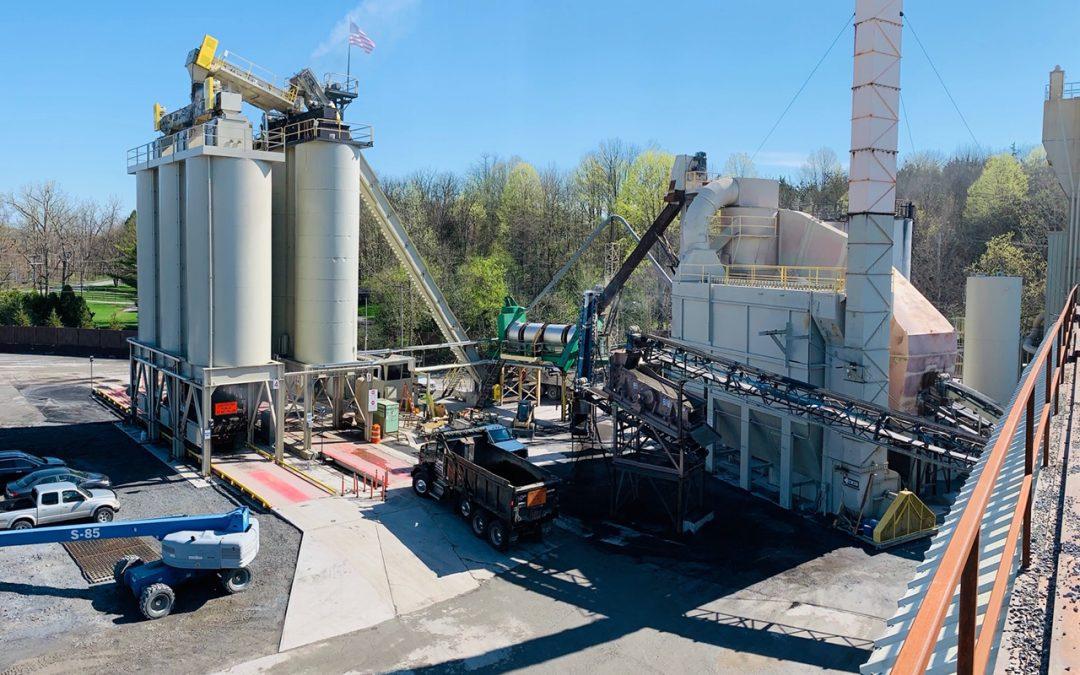 Peckham Industries Improves Pleasant Valley Hot Mix Asphalt Plant