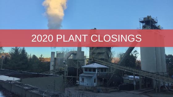 2020 HMA Plant Closings